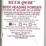 Beer Heading Powder