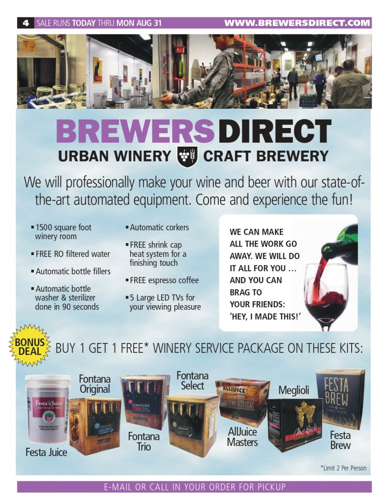 Jul/ Aug 2020 Newsletter Brewers Direct