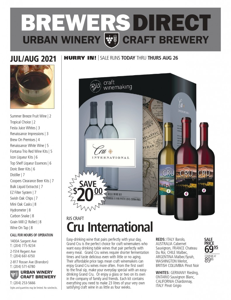 May-June 2021 Newsletter Brewers Direct