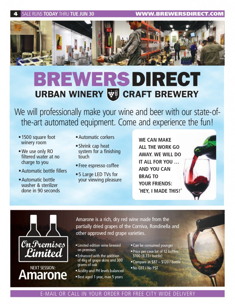 May/ June 2020 Newsletter Brewers Direct