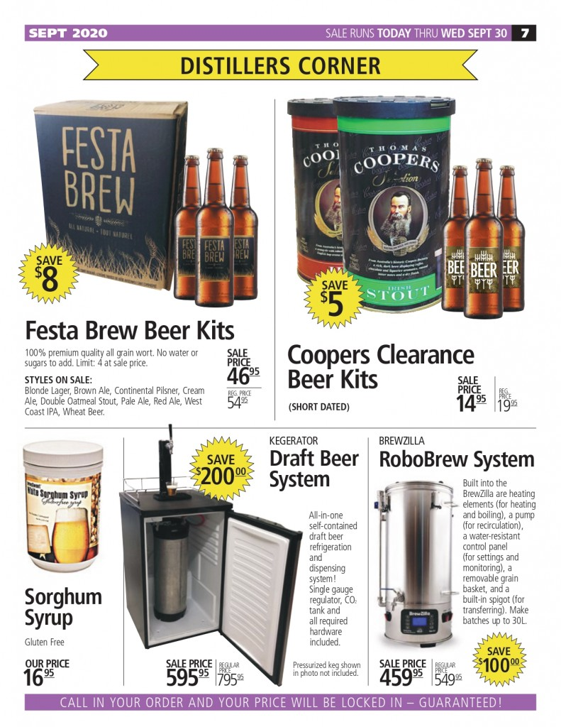 Sep 2020 Newsletter Brewers Direct