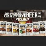 Crafted Beer Kit with Hops