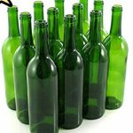 Green Bordeaux Bottles