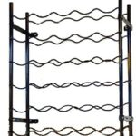 wine rack 30 metal